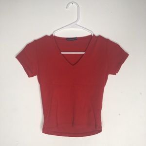 Red BRANDY MELVILLE Top